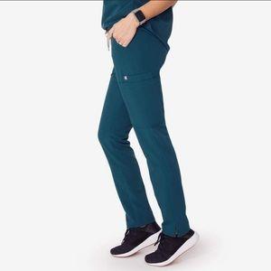 Figs Yola pants, Caribbean Blue. XS tall. New!